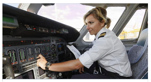 A pilot who clearly doesn't know what they're doing.